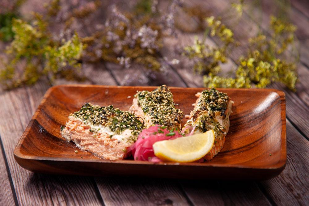 The Jreamy Furikake Salmon
