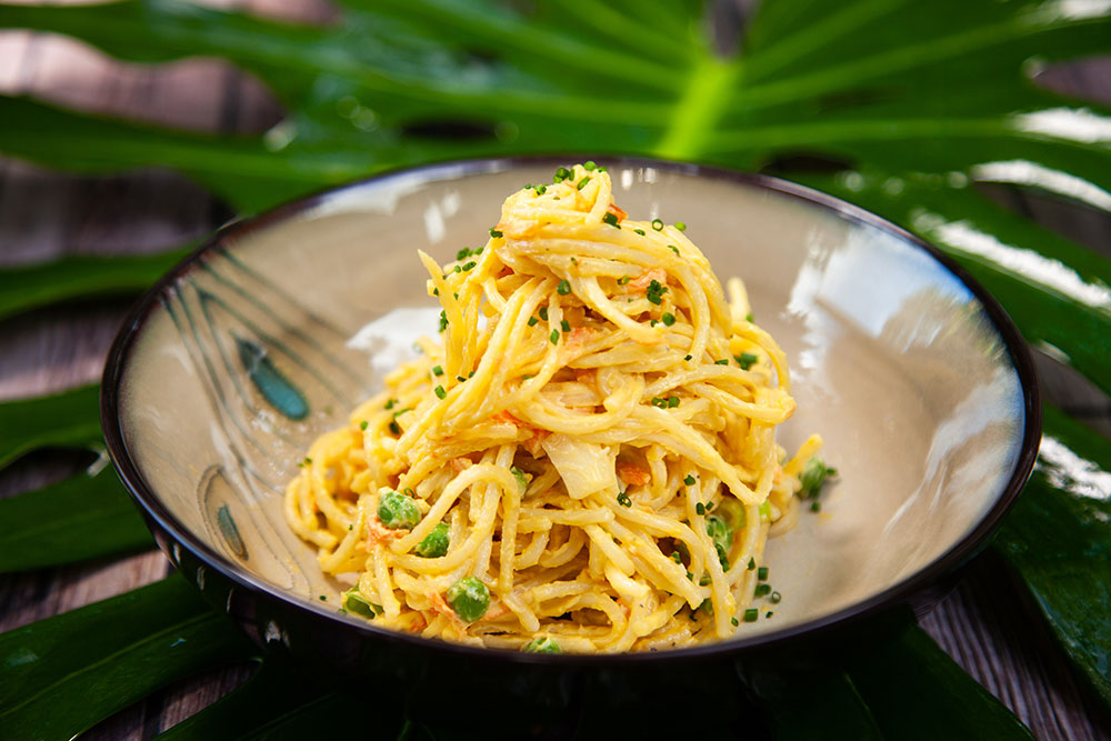 Moms Spaghetti Mac Salad