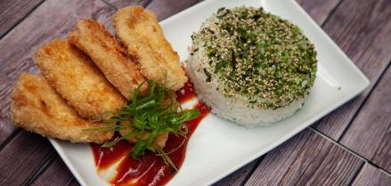 Tofu Orange Chicken