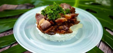 Teriyaki Smoked Meat
