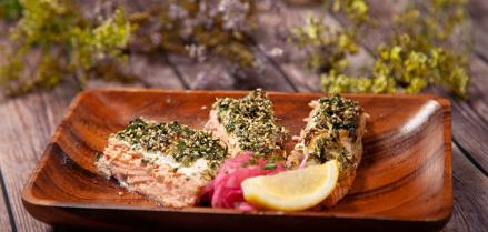 The Jreamy Furikake Salmon